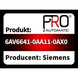 6AV6641-0AA11-0AX0