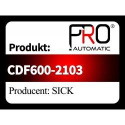 CDF600-2103