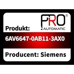 6AV6647-0AB11-3AX0