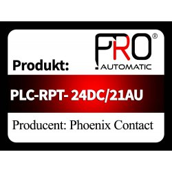 PLC-RPT- 24DC/21AU