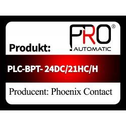 PLC-BPT- 24DC/21HC/H