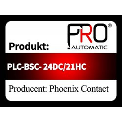 PLC-BSC- 24DC/21HC