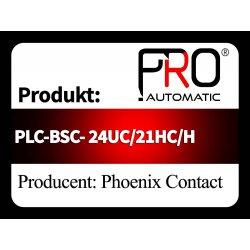 PLC-BSC- 24UC/21HC/H