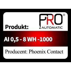 AI 0,5 - 8 WH -1000