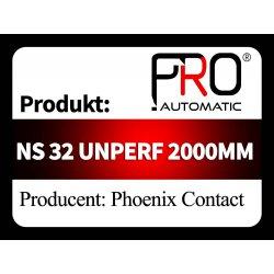 NS 32 UNPERF 2000MM