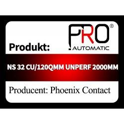 NS 32 CU/120QMM UNPERF 2000MM