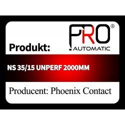 NS 35/15 UNPERF 2000MM