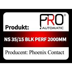 NS 35/15 BLK PERF 2000MM
