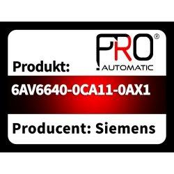 6AV6640-0CA11-0AX1