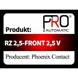 RZ 2,5-FRONT 2,5 V