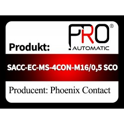 SACC-EC-MS-4CON-M16/0,5 SCO