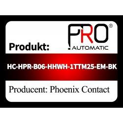 HC-HPR-B06-HHWH-1TTM25-EM-BK