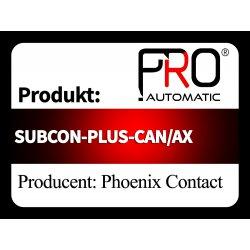 SUBCON-PLUS-CAN/AX