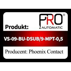 VS-09-BU-DSUB/9-MPT-0,5