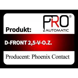 D-FRONT 2,5-V-O.Z.