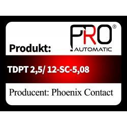 TDPT 2,5/ 12-SC-5,08