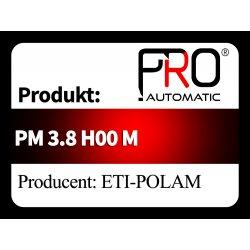 PM 3.8 H00 M