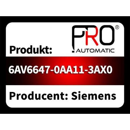 6AV6647-0AA11-3AX0