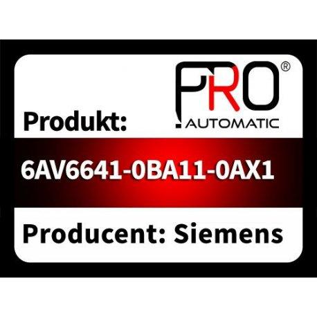 6AV6641-0BA11-0AX1