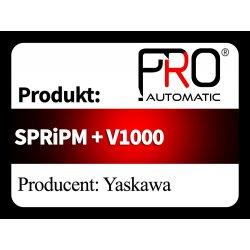 SPRiPM + V1000
