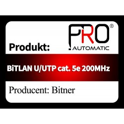 BiTLAN U UTP cat. 5e 200MHz