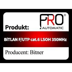 BiTLAN F UTP cat.6 LSOH 350MHz
