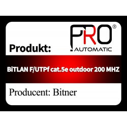 BiTLAN F UTPf cat.5e outdoor 200 MHZ