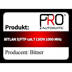 BiTLAN S FTP cat.7 LSOH 1000 MHz