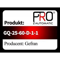 GQ-25-60-D-1-1