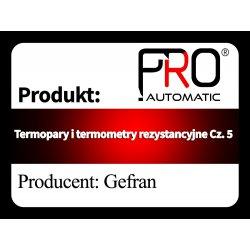Termopary i termometry rezystancyjne Cz. 5